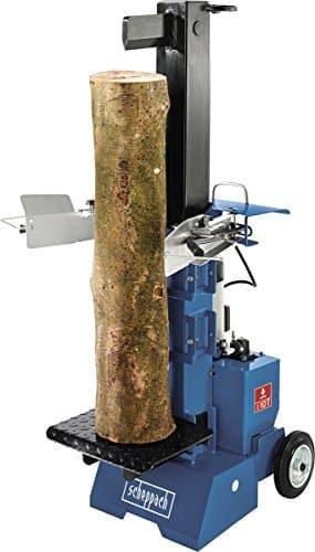 Scheppach Holzspalter HL1000V (4000W, Spaltkraft 10 T, 3-fach einstellbarer Stecktisch, pulverbeschichtet)